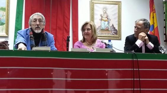 José Carlos Guerra, Mari Luz Uña y Antonio Casado