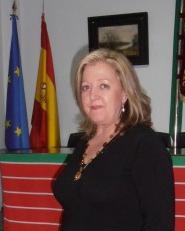 La presidenta Mª Luz Uña Riesco