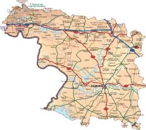 mapa_zamora_provincia